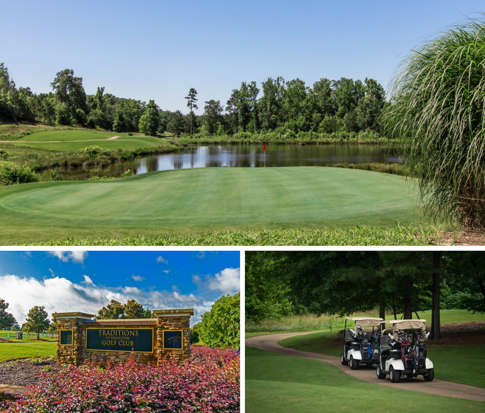 18-hole golf course at Traditions of Braselton