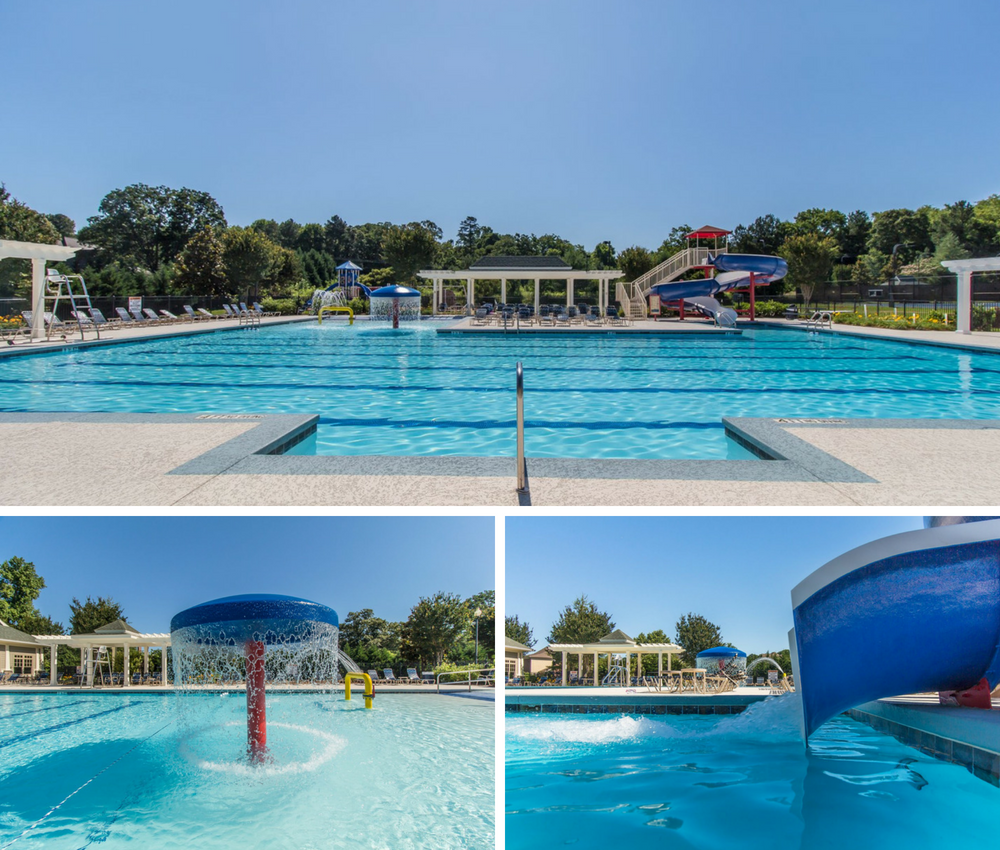 Luxurious junior Olympic pool at Traditions of Braselton