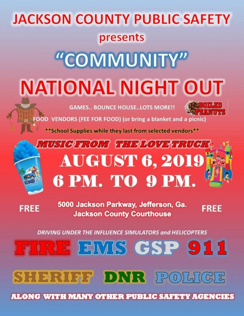 Jackson County Community National Night Out
